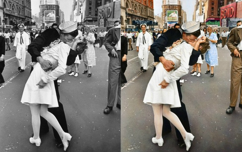 wow history s most iconic photos in colour