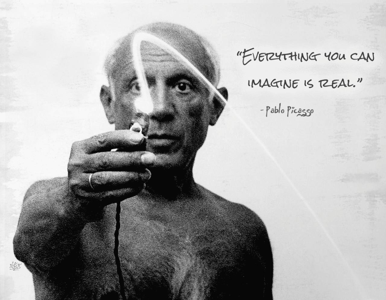 The Amazing Light Paintings Of Pablo Picasso