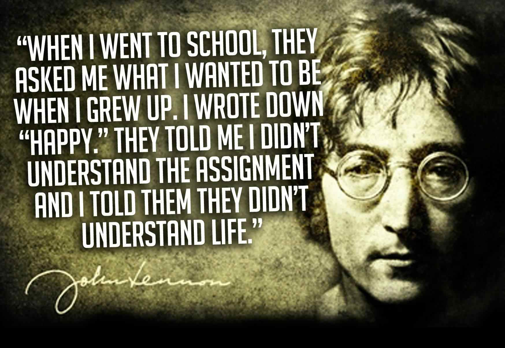 10 John Lennon Quotes Everyone Should Read