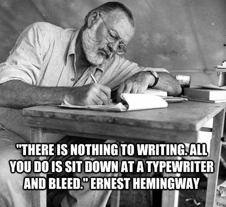 Hemingway On Writing 7 Quotes All Book Lovers Should Read