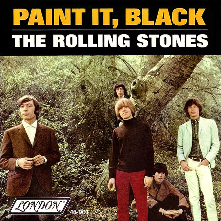 Song Rolling Stones Paint It Black