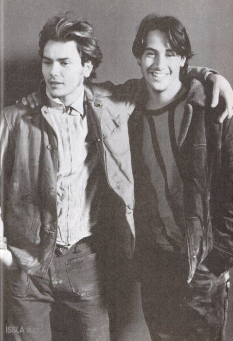 Keanu and River