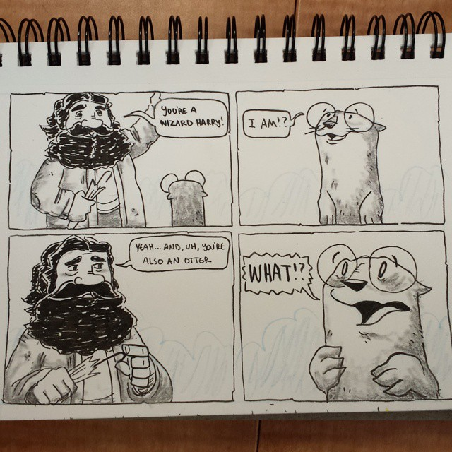Harry Otter by Austin Light