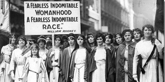 suffragettes coursework