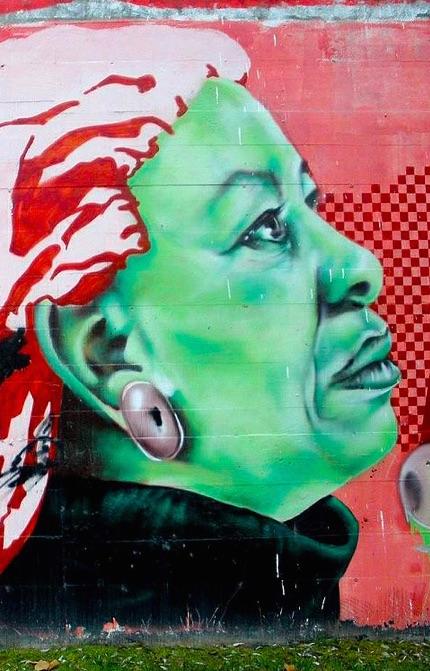 toni morrison mural