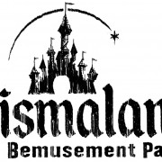 Logo for Banksy's Dismaland exhibition