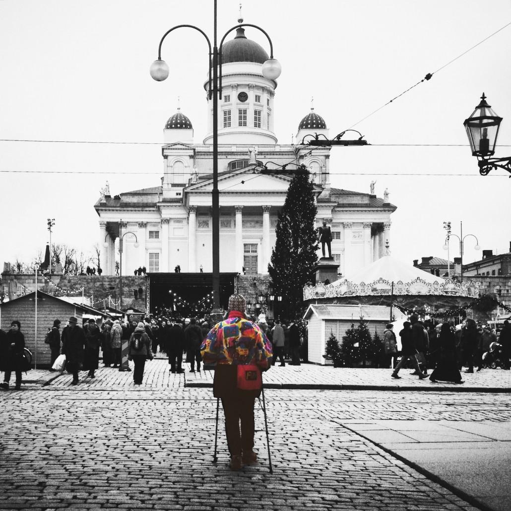 Christmas Market, Helsinki Senate Square. Photo by Taru Latva-Pukkila.