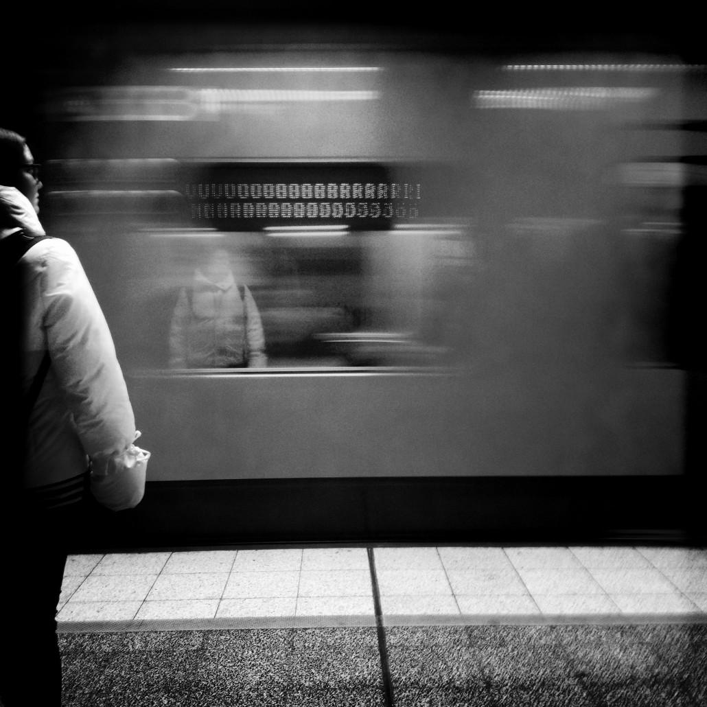 Metro subway train, Helsinki, Photo by Taru Latva-Pukkila.
