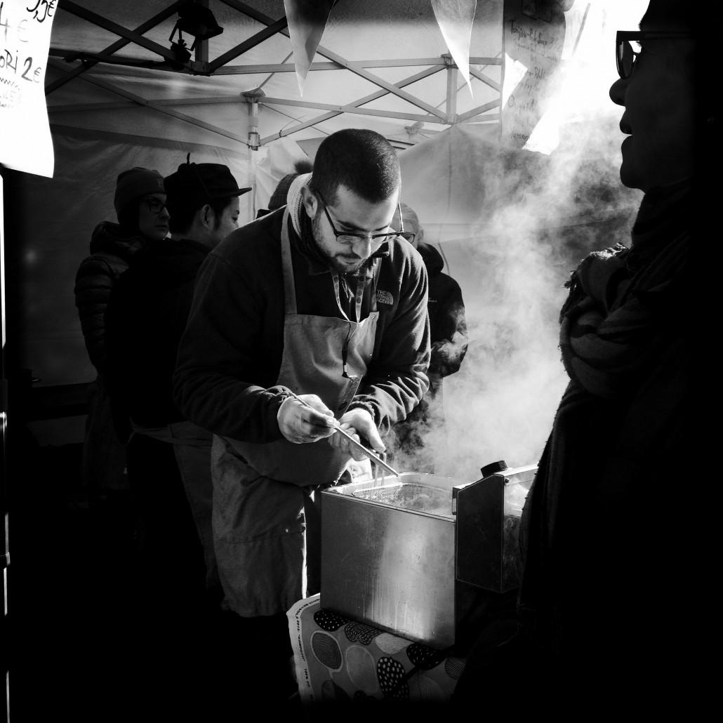 People attending a street food festival in Helsinki. Photo by Taru Latva-Pukkila.