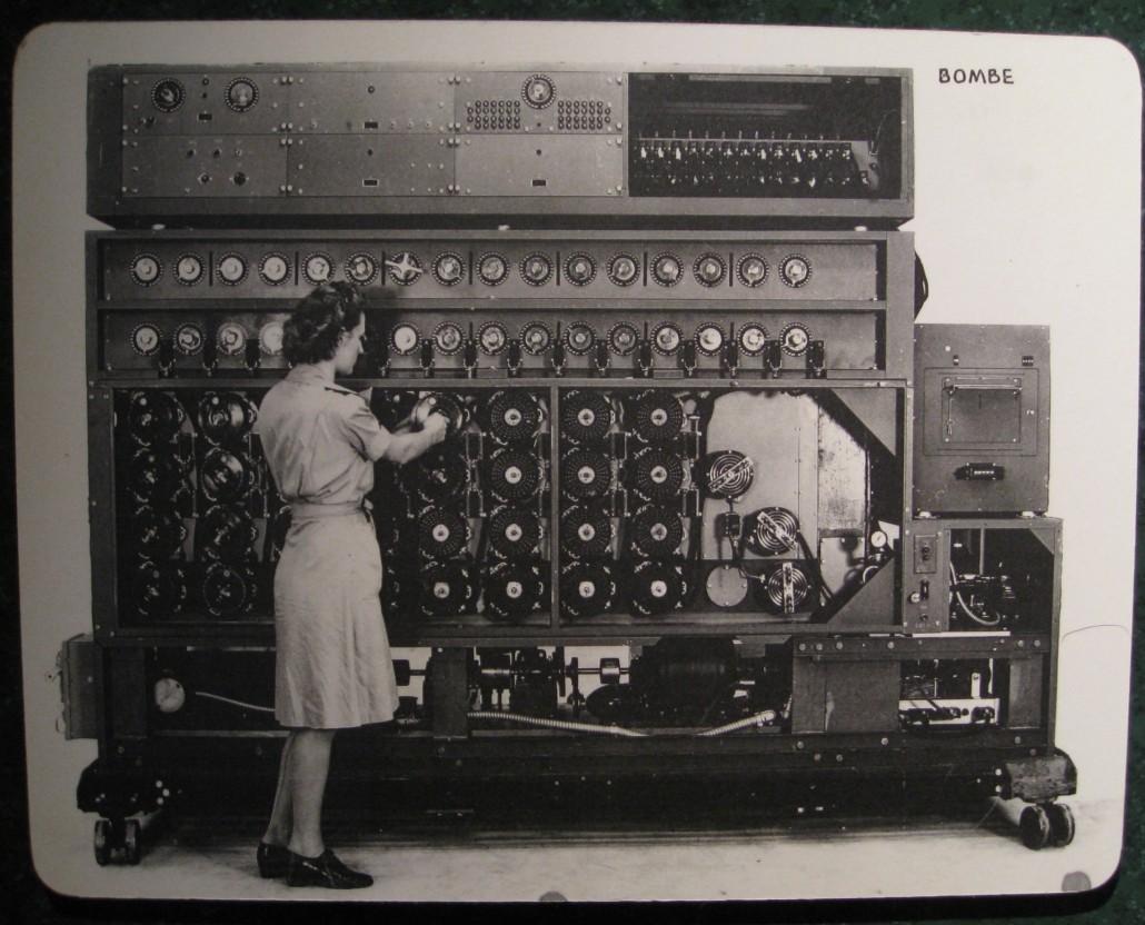 WWII era US Navy cryptanalytic machine for deciphering ENIGMA code.