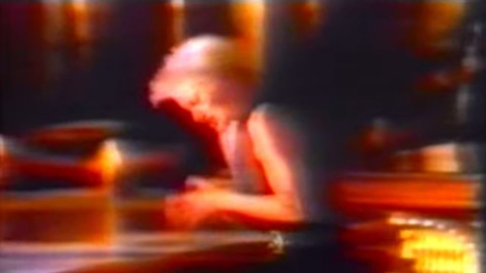 Sixth generation VHS copy of a 1991 Roxette music video