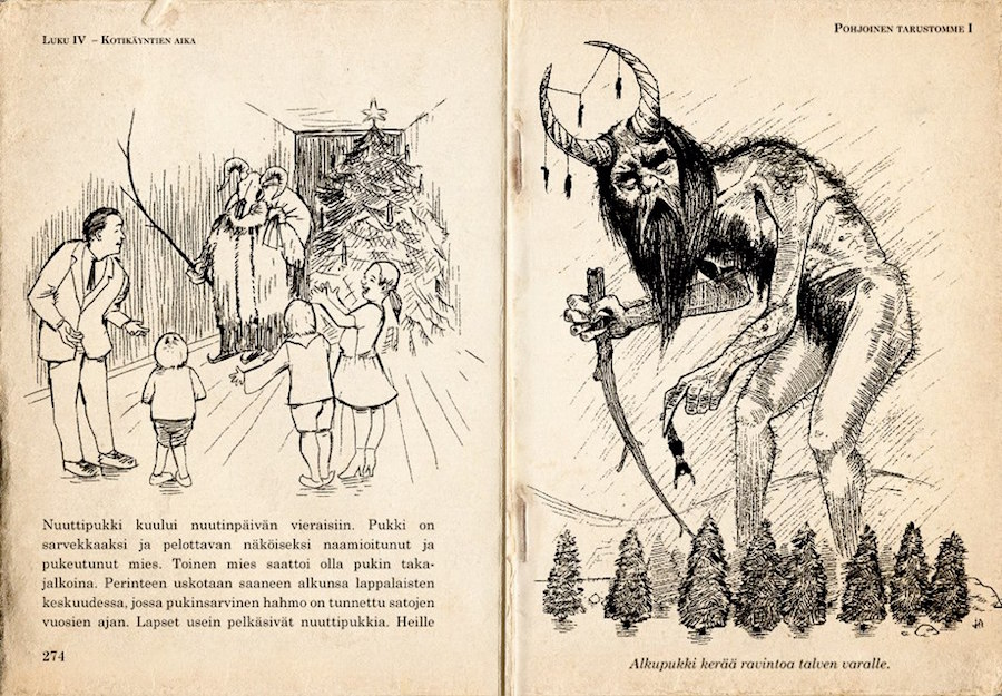 Finland Christmas Goat.How Joulupukki The Finnish Santa Went From Naughty To Nice