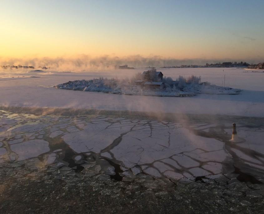 Helsinki sea ice 2