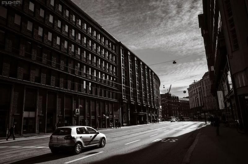 Driving in Helsinki