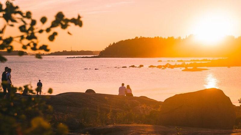 Helsinki coastline