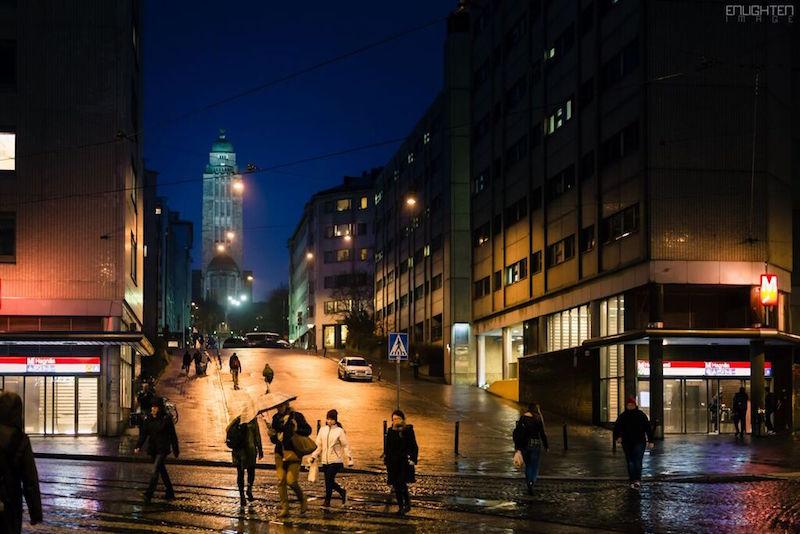 Helsinki darkness