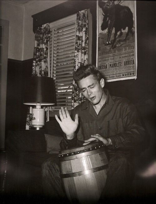 James Dean bongos