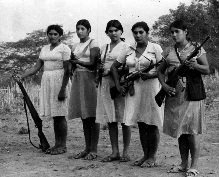 Revolutionary women in El Salvador