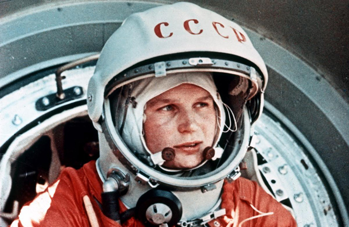 Russian Valentina Tereshcova, first woman in space( 1963)
