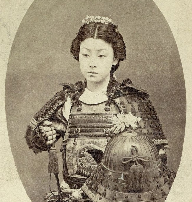 late 1800s samurai warrior