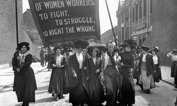 Suffragette March, London 1911