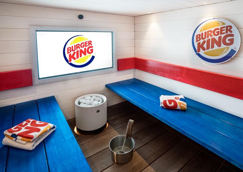 fast food sauna