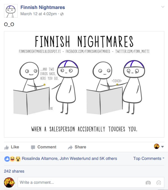 finnish nightmares facebook