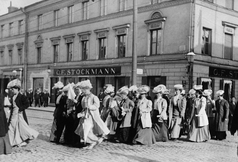 finnish women's suffrage