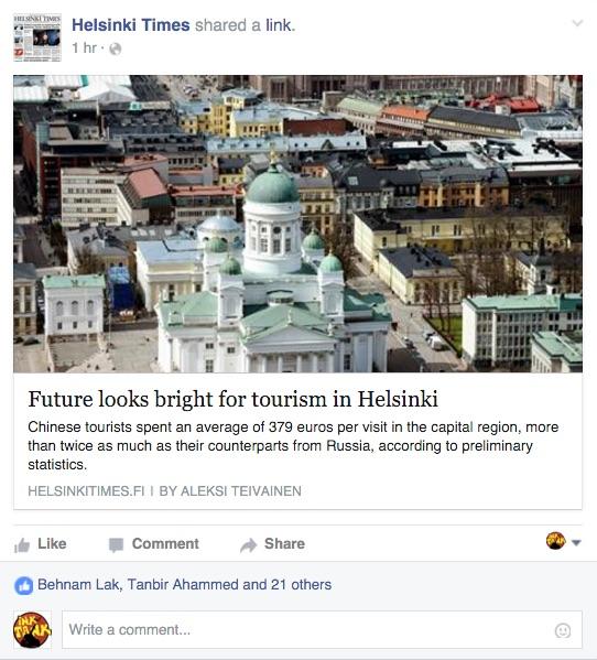 helsinki times facebook