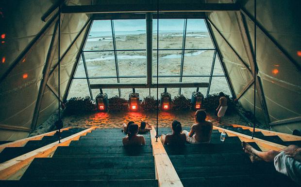 worlds largest sauna