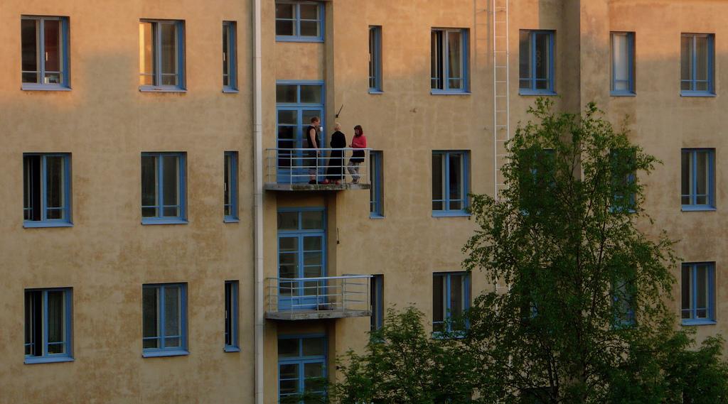 View of a Kallio Courtyard.