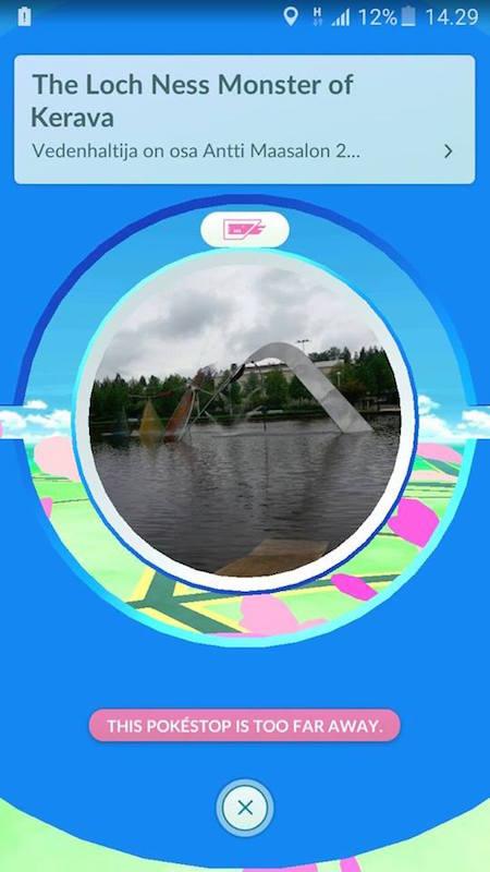 Finland pokestop kerava