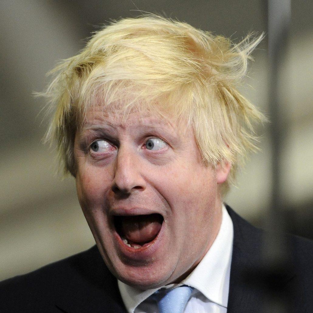 Boris Johnson at his best