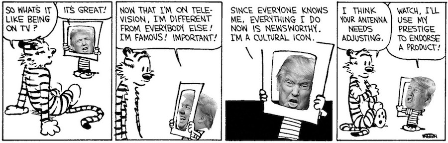 Donald and Hobbes TV