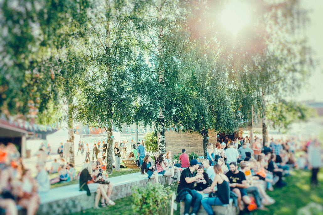 Flow Festival is not a concrete jungle