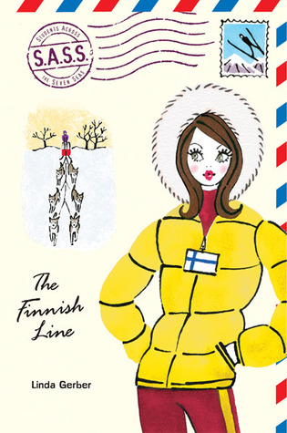 "Book cover: Linda Gerber ""The Finnish Line"""