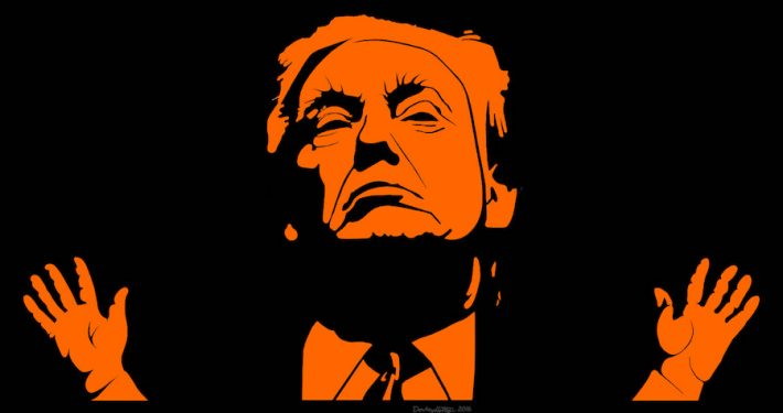 orange Donald Trump