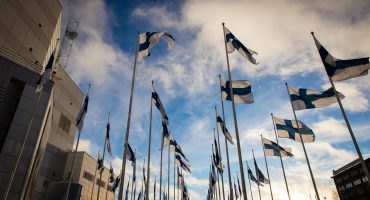 Finnish Independence day celebrations at Tamperetalo, 2013.