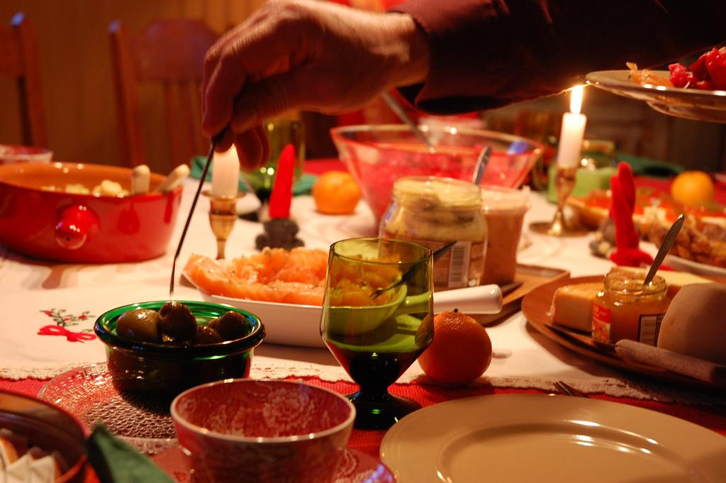 Traditional Finnish Christmas dinner
