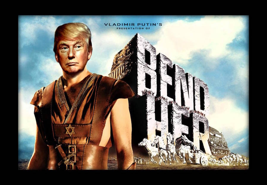 meet the artist whose spoof movie posters are trolling trump