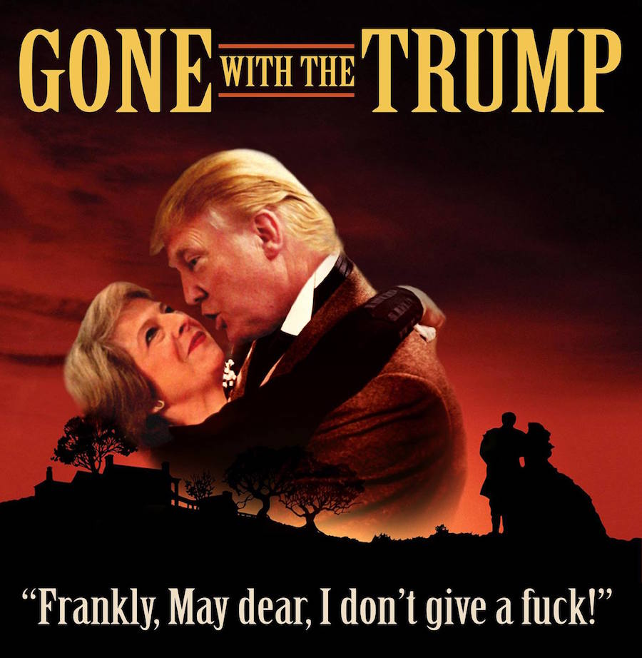A Brilliant Series Of Trump Inspired Spoof Film Posters We Have Feeling Theyre Going To Be Playing On The Bigly Screen Any Day Now