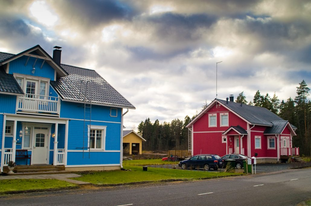 Finnish houses