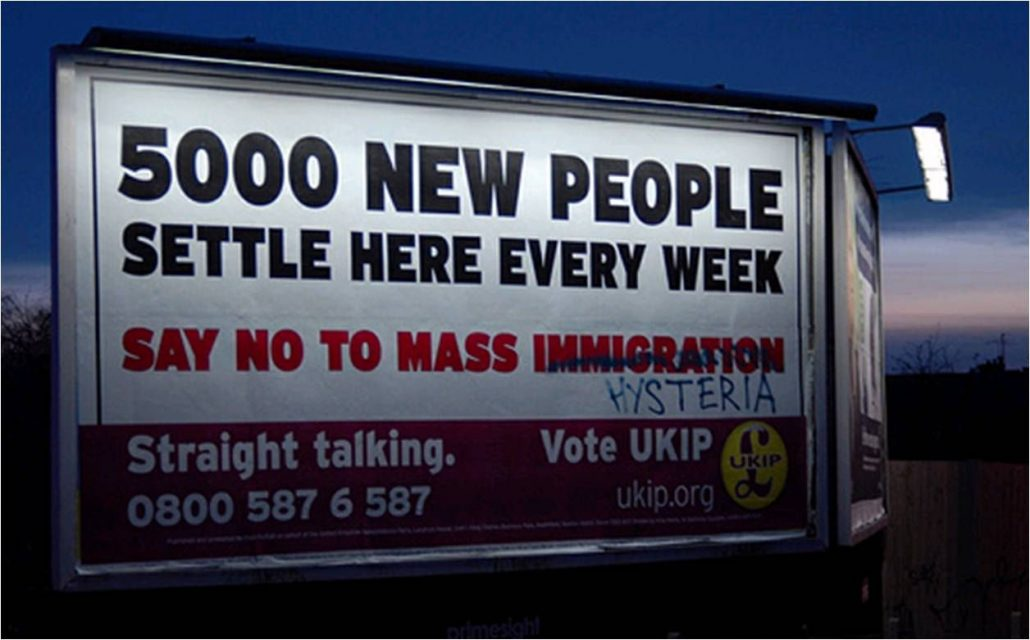 5000 people settle here every week ukip mass hysteria