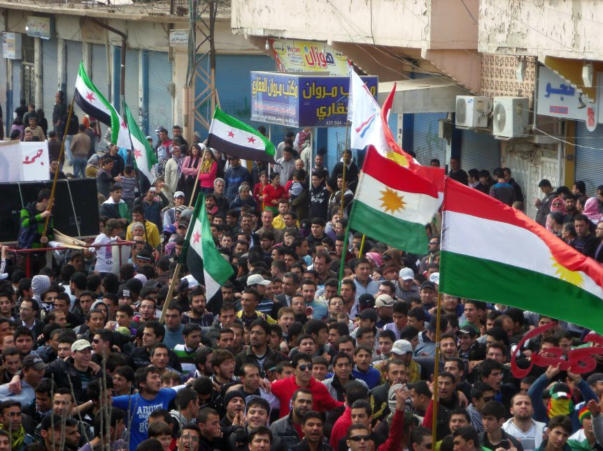 syrian revolution protesters