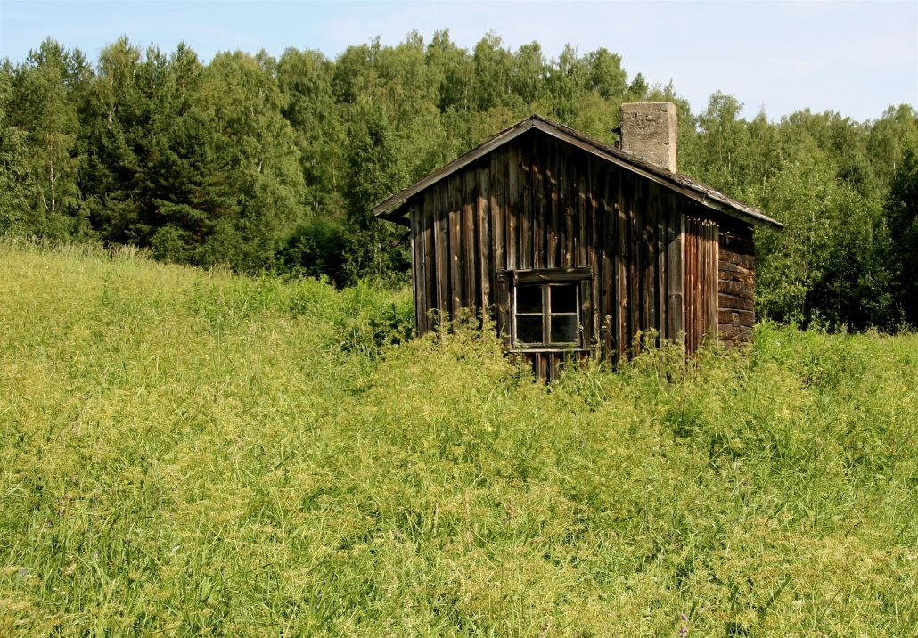 Old Finnish Summer Cottage