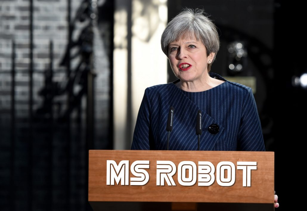 Theresa May, Ms Robot