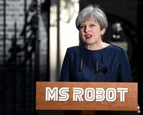 Theresa May, Ms Robot