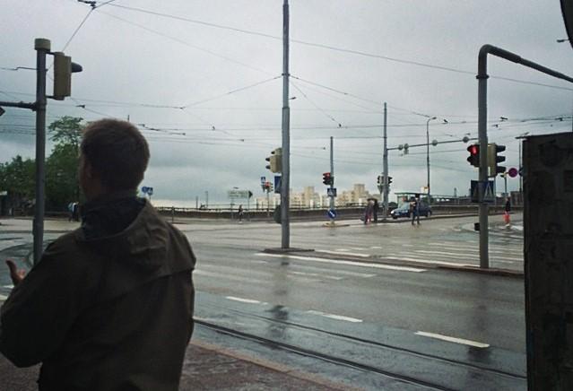 Eastern Pasila, Helsinki in grey June weather, 2014