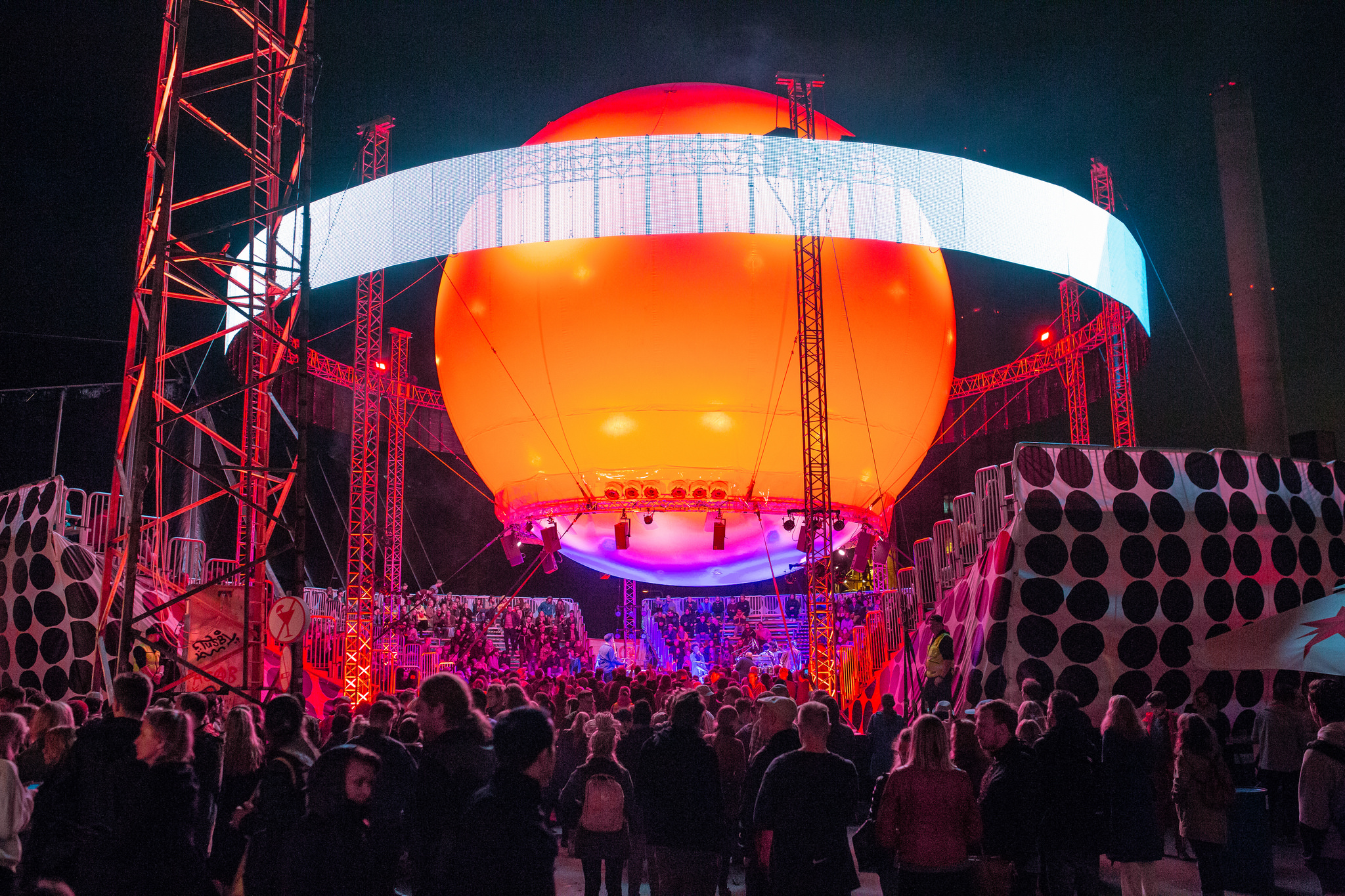 Flow Balloon stage