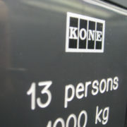 Finnish made Kone elevator